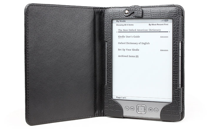 Amazon Kindle 4 Case With Built-in LED Light